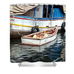 Floating Market Shower Curtain