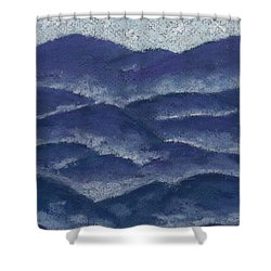 Floating Mist Shower Curtain
