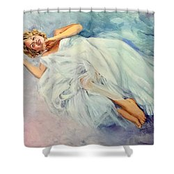 Floating On A Dream Shower Curtain