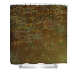 Floating Zen Shower Curtain