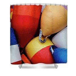 Floats Shower Curtain