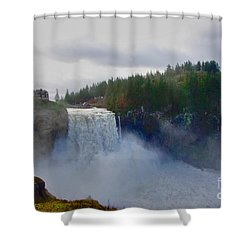 Flood Stage Shower Curtain