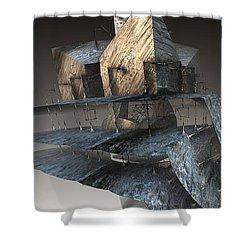 Floor Plan Shower Curtain