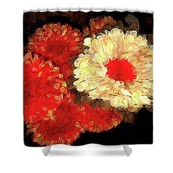 Flora Barcelona Shower Curtain