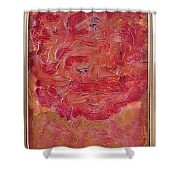 Floral Abstract 1 Shower Curtain