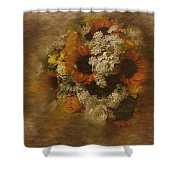 Floral Arrangement No. 5 Shower Curtain by Richard Cummings