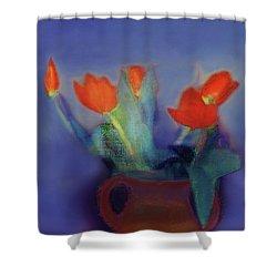 Floral Art 18 Shower Curtain