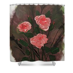 Floral Art Shower Curtain
