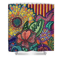 Floral Awakening Shower Curtain