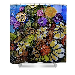 Floral Boquet Shower Curtain