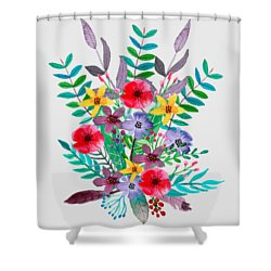 Just Flora Shower Curtain