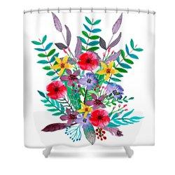 Just Flora Shower Curtain