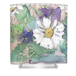 Floral Combo Shower Curtain