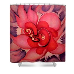 Floral Energies Shower Curtain