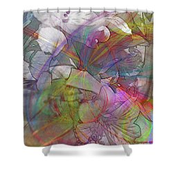 Floral Fantasy Shower Curtain