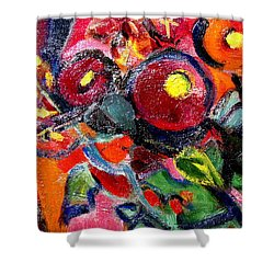 Floral Fiesta With Hola Shower Curtain