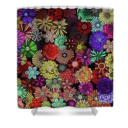 Floral Love Shower Curtain
