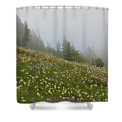 Floral Meadow Shower Curtain