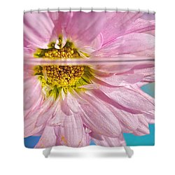 Floral 'n' Water Art 6 Shower Curtain by Kaye Menner