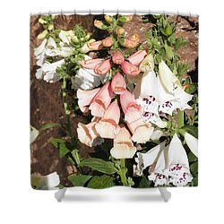 Floral Niagra Shower Curtain