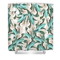 Floral Porn Shower Curtain