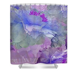 Floral Potpourri With Peonies 4 Shower Curtain