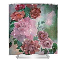 Floral Splendor Shower Curtain