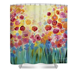 Floral Splendor II Shower Curtain