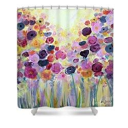 Floral Splendor IIi Shower Curtain