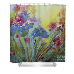 Floral Splendor Shower Curtain