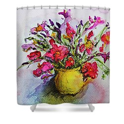 Floral Still Life 05 Shower Curtain