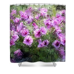 Floral Study 053010 Shower Curtain by David Lane