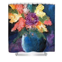 Floral Study 1 Shower Curtain