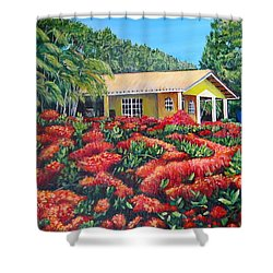 Floral Takeover Shower Curtain