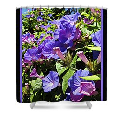 Floral Tango Shower Curtain by Kurt Van Wagner