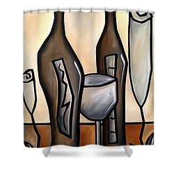 Floral Tones Shower Curtain