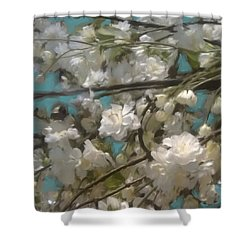 Floral01 Shower Curtain