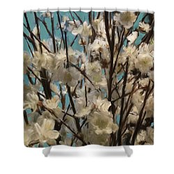 Floral02 Shower Curtain