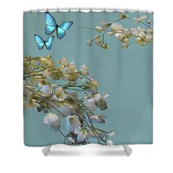 Floral04 Shower Curtain