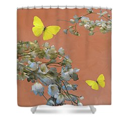 Floral06 Shower Curtain