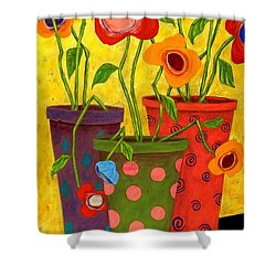 Floralicious Shower Curtain by John Blake