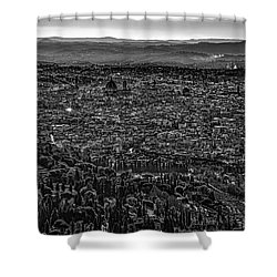 Florence From Fiesole Shower Curtain