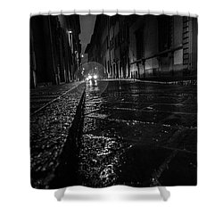 Florence Nights Shower Curtain