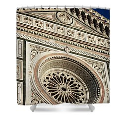 Shower Curtain featuring the photograph Florence by Silvia Bruno