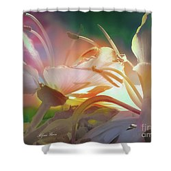 Flores De Andalucia Shower Curtain