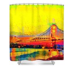 Florianopolis Brazil - Pa Shower Curtain