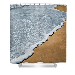 Florida Beach Shower Curtain by Garry McMichael