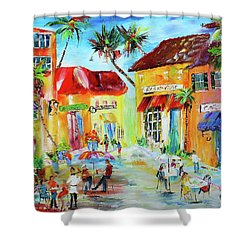 Florida Cafe Shower Curtain