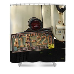 Florida Dodge Shower Curtain by Rob Hans