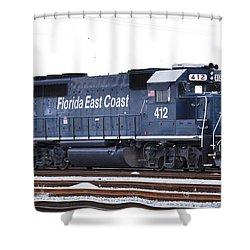 Florida East Coast 412 Shower Curtain